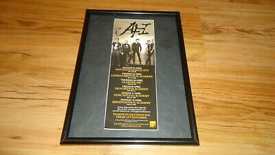 AFI 2010 Tour-framed Original Advert • 11.99£