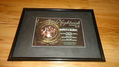NIGHTWISH 2018 Tour-framed Original Advert • 11.99£