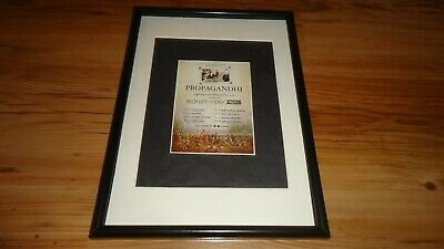 PROPAGANDHI 2009 Tour-framed Original Advert • 11.99£