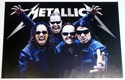 Metallica Poster Under License To Atmosphere Apparel 2009 • 25£