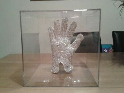 Michael Jackson  Made With Swarovski  Crystal Glove (HISTORY, Bad, Dangerous) • 349£