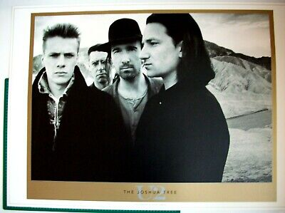 U2 The Joshua Tree Lithograph Anton Corbijn Art Poster Out Of Print Awesome Look • 49.95£