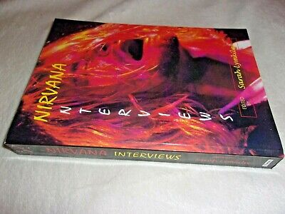 NIRVANA - THE INTERVIEWS ; Very Rare Out-of-print Book, Only 100 Printed. NEW &  • 299.99£