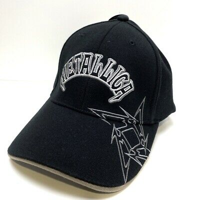 Metallica Ninja Star Logo Rare Official Baseball Cap   • 45.31£