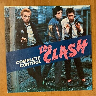 """7"""" The Clash - Complete Control (1978) Spanish Import Nr Mint/Archive Condition • 424.95£"""