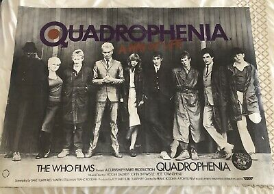 Film Poster Quadrophenia The Who • 30£