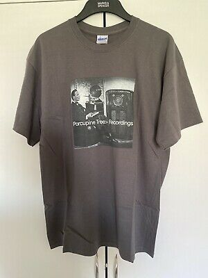 Porcupine Tree Steven Wilson Official Recordings T Shirt LARGE • 10£