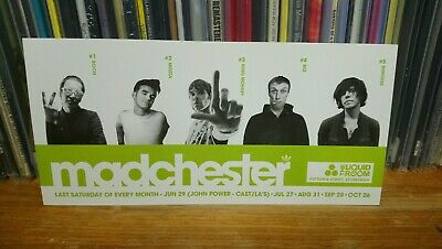 Stone Roses Morrissey Happy Mondays Ian Brown Postcard  Charlatans Madchester  • 3£
