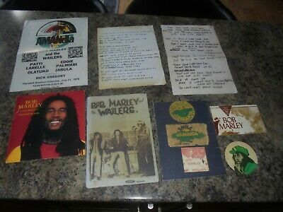 Bob Marley 1977  Vinyl Record And Memorabilia Set • 15£