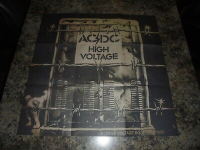 Acdc High Voltage Poster • 3.50£