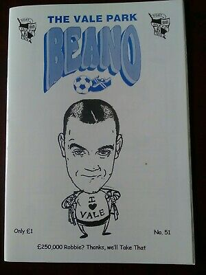 The Robster On Cover Of 2006  Port Vale Fanzine  • 1£