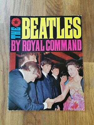 The Beatles By Royal Command 1963 Booklet • 10£