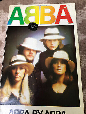 ABBA By ABBA Book Authorised By ABBA 1977 Rare Great Condition For Age • 9.99£