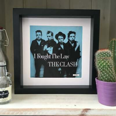 The Clash - I Fought The Law - Framed Artwork Picture Sleeve 1979 • 19.99£