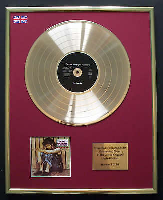 Dexys Midnight Runners Cd Gold Disc Record Free P&p! • 160.95£