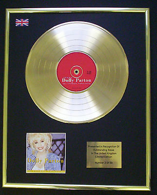 Dolly Parton A Life In Cd Gold Disc Record Free P&p! • 160.95£