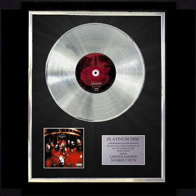 Slipknot / Slipknot Cd Platinum Disc Record Vinyl Lp • 167.97£