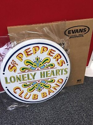 Evans Beatles Sgt. Peppers Lonely Hearts Club Band Anniversary Drum Head/Skin • 44.99£