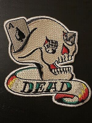 Grateful Dead X Wes Lang Dead Skull Patch • 14.82£