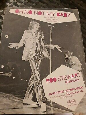 Rod Stewart, Oh No Not My Baby Sheet Music For Guitar • 3.50£