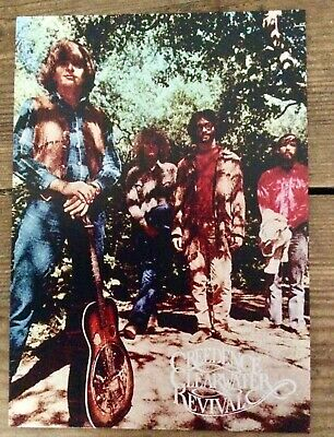 Creedence Clearwater Revival Promotional Postcard Would Look Great Framed • 1£
