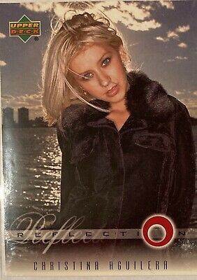 Christina Aguilera Collectors Card #1 Of 45. 2000 Upper Deck Rare Reflection • 3.49£