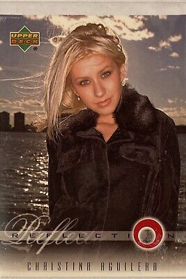 Christina Aguilera Collectors Card #2 Of 45. 2000 Upper Deck Rare Reflection • 3.49£