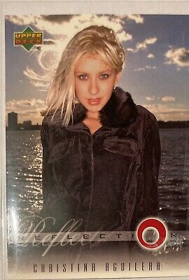 Christina Aguilera Collectors Card #3 Of 45. 2000 Upper Deck Rare Reflection • 3.49£