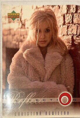 Christina Aguilera Collectors Card #4 Of 45. 2000 Upper Deck Rare Reflection • 3.49£