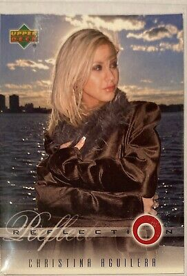 Christina Aguilera Collectors Card #5 Of 45. 2000 Upper Deck Rare Reflection • 3.49£