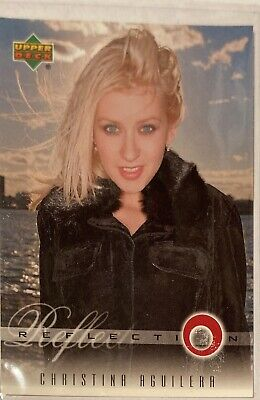 Christina Aguilera Collectors Card #7 Of 45. 2000 Upper Deck Rare Reflection • 3.49£