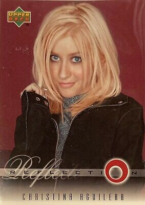 Christina Aguilera Collectors Card #8 Of 45. 2000 Upper Deck Rare Reflection • 3.49£