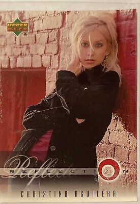 Christina Aguilera Collectors Card #9 Of 45. 2000 Upper Deck Rare Reflection • 3.49£