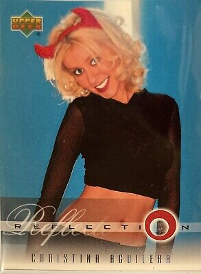 Christina Aguilera Collectors Card #10 Of 45. 2000 Upper Deck Rare Reflection • 3.49£