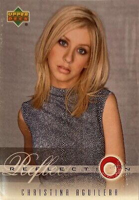 Christina Aguilera Collectors Card #13 Of 45. 2000 Upper Deck Rare Reflection • 3.49£