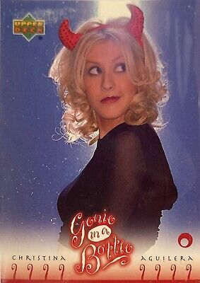 Christina Aguilera Collectors Card #20 Of 45. 2000 Upper Deck Rare Genie In A Bo • 3.49£
