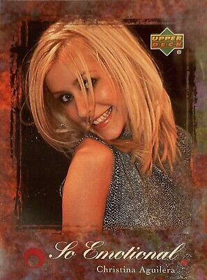 Christina Aguilera Collectors Card #37 Of 45. 2000 Upper Deck Rare So Emotional • 3.49£