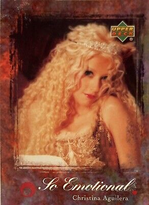 Christina Aguilera Collectors Card #43 Of 45. 2000 Upper Deck Rare So Emotional • 3.49£