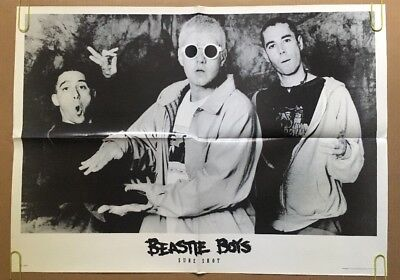 The Beastie Boys Sure Shot Vintage Poster Promo 1990's Pin-up Retro Music Ad *94 • 71.08£