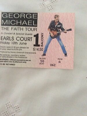 George Michael Faith Tour Vintage Ticket Stub • 35£