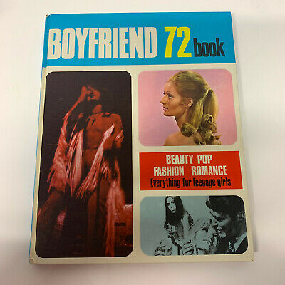 Boyfriend 72 Book Vintage Retro Annual Beauty Pop Fashion Romance Black Sabbath  • 7.95£