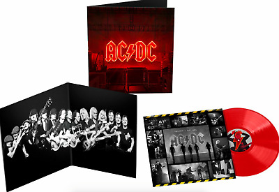 Ac/dc - Power Up - Ltd Edt Red Vinyl Lp - New & Sealed Free Uk Delivery ! • 28.59£