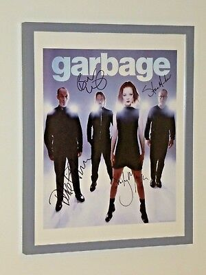 Garbage - Fully Signed / Autographed Framed Lithograph Picture - Shirley Manson • 499.99£