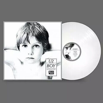 U2 Boy - 40Th Anniversary - White  Vinyl Lp Rsd 2020 Black Friday New & Sealed • 26.79£
