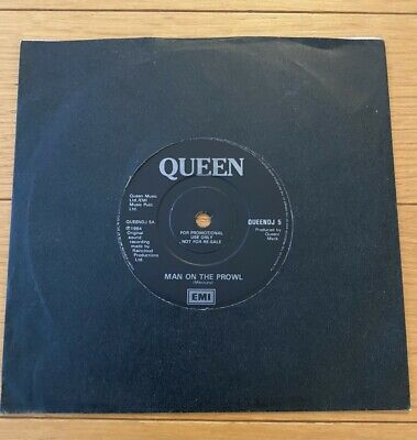 Queen  Man On The Prowl UK 7  Promo • 89.99£