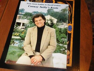 Family Tree Book CONWAY TWITTY - HENDERSONVILLE TN - FRIARS POINT MS - HELENA AR • 15.93£