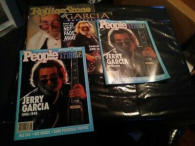 4 Jerry Garcia Grateful Dead Magazines • 8.52£