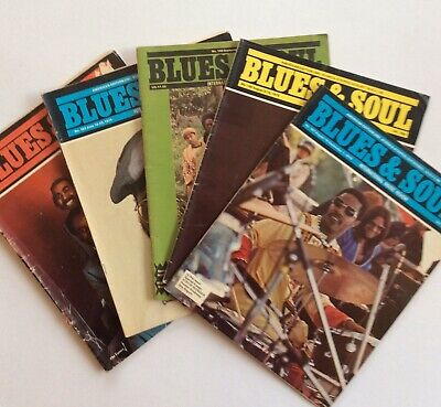 5 X Blues & Soul Magazines From 1975 • 4.99£