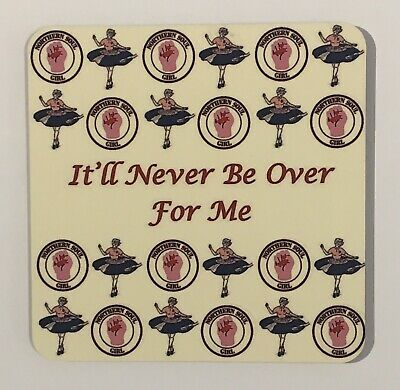 """Superb Northern Soul Coaster - Soul Sister """" It'll Never Be Over For Me """" • 3£"""