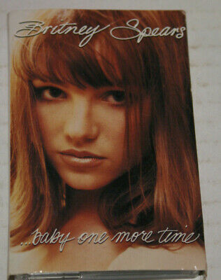 Britney Spears ...Baby One More Time  Cassette Single W/ Card Stats 1998 Rare  • 22.48£